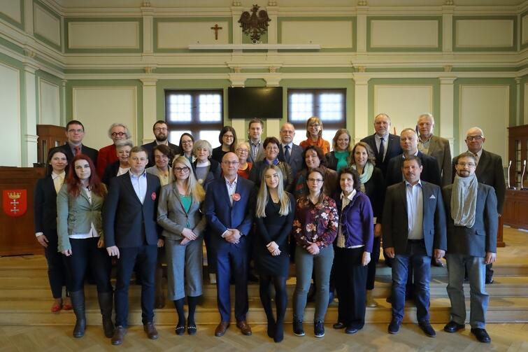 Rada Dzielnicy Piecki-Migowo wraz z radnymi Miasta Gdańska