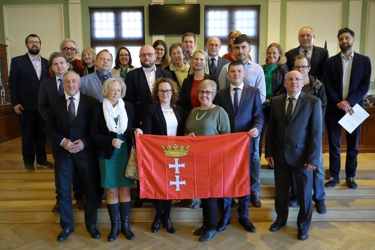 Rada Dzielnicy Siedlce wraz z radnymi Miasta Gdańska