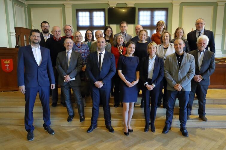 Rada Dzielnicy Wzgórze Mickiewicza wraz z radnymi Miasta Gdańska