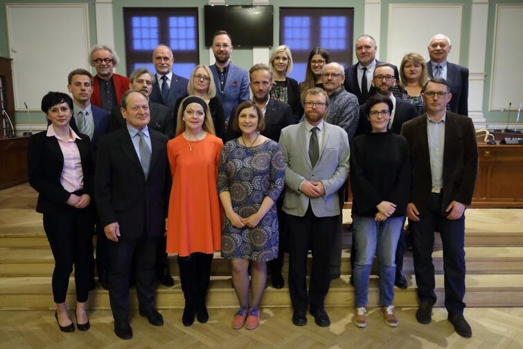 Rada Dzielnicy Brętowo wraz z radnymi Miasta Gdańska