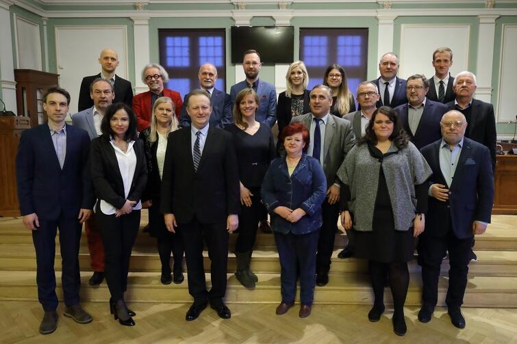 Rada Dzielnicy Strzyża wraz z radnymi Miasta Gdańska