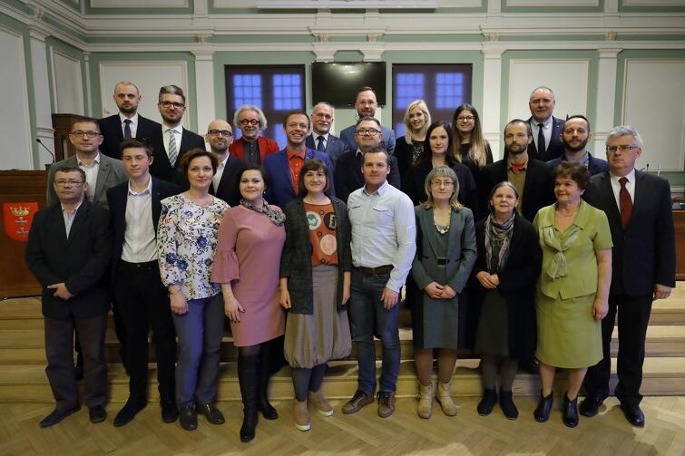 Rada Dzielnicy Wrzeszcz Dolny wraz z radnymi Miasta Gdańska