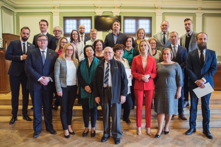 Rada Dzielnicy Przymorze Małe wraz z Radnymi Miasta Gdańska