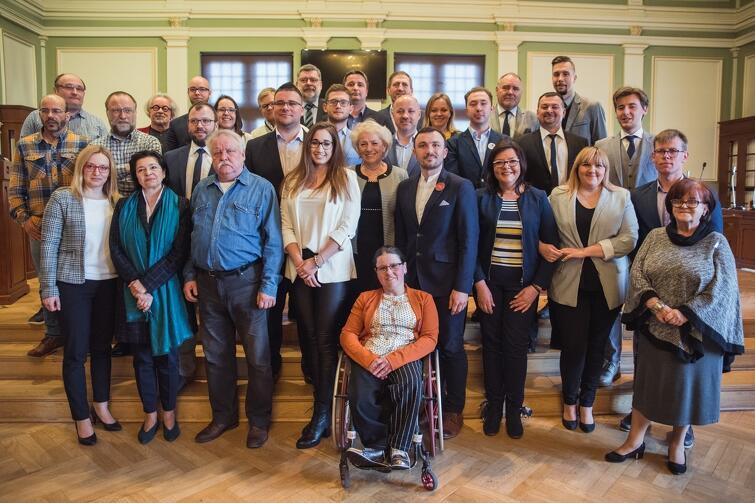 Rada Dzielnicy Przymorze Wielkie wraz z Radnymi Miasta Gdańska