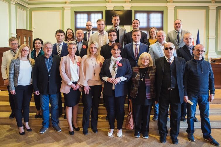 Rada Dzielnicy Zaspa - Młyniec wraz z Radnymi Miasta Gdańska