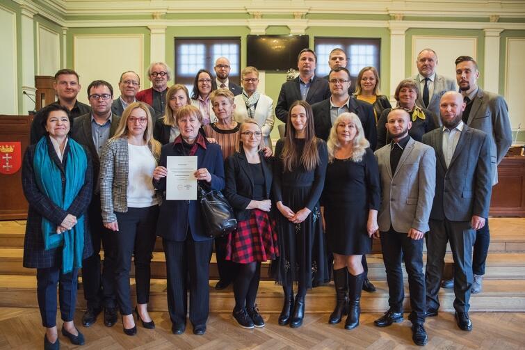 Rada Dzielnicy Zaspa - Rozstaje wraz z Radnymi Miasta Gdańska