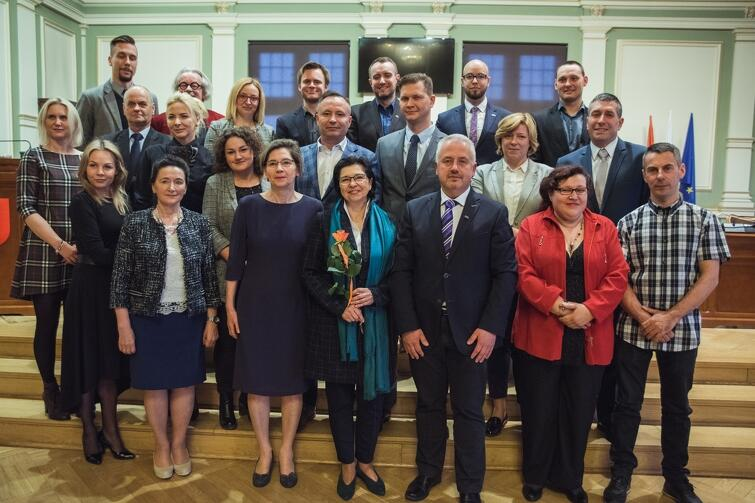 Rada Dzielnicy Kokoszki wraz z Radnymi Miasta Gdańska