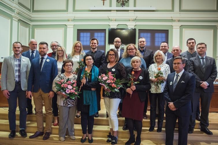 Rada Dzielnicy Matarnia wraz z Radnymi Miasta Gdańska