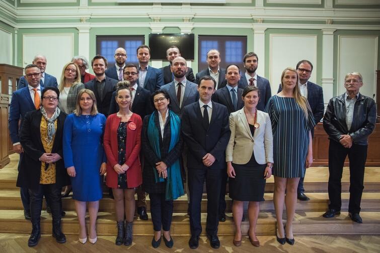 Rada Dzielnicy Oliwa wraz z Radnymi Miasta Gdańska