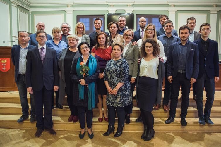 Rada Dzielnicy Osowa wraz z Radnymi Miasta Gdańska