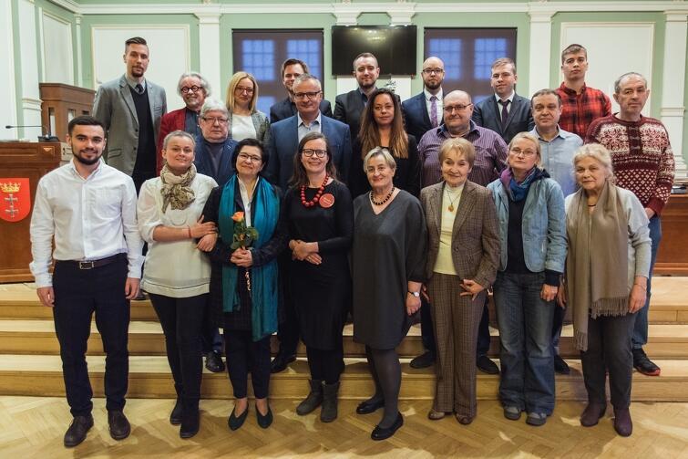 Rada Dzielnicy VII Dwór wraz z Radnymi Miasta Gdańska