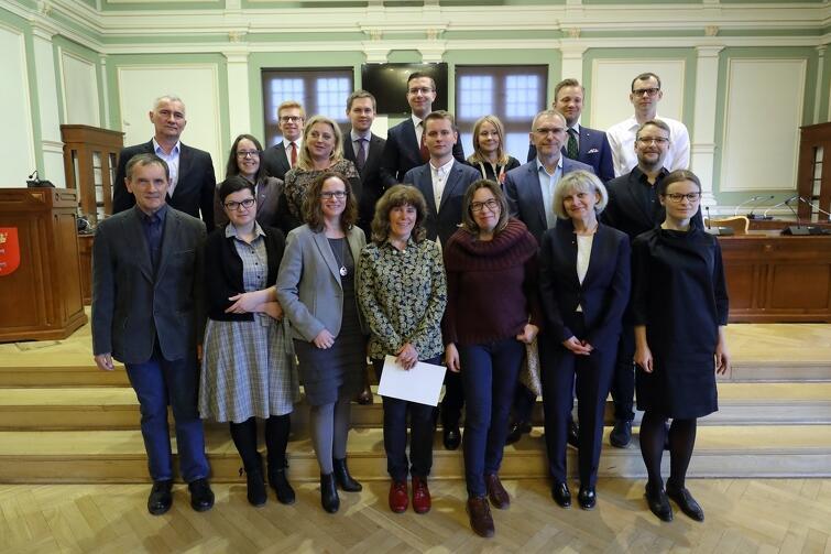 Rada Dzielnicy Aniołki wraz z Radnymi Miasta Gdańska