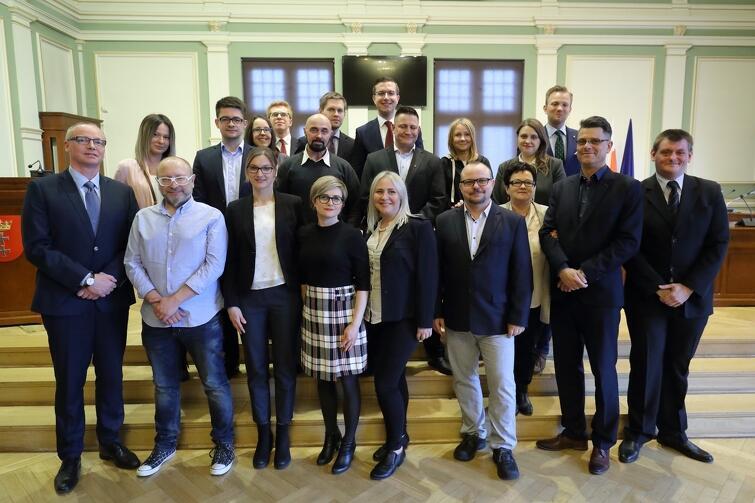 Rada Dzielnicy Brzeźno wraz z Radnymi Miasta Gdańska