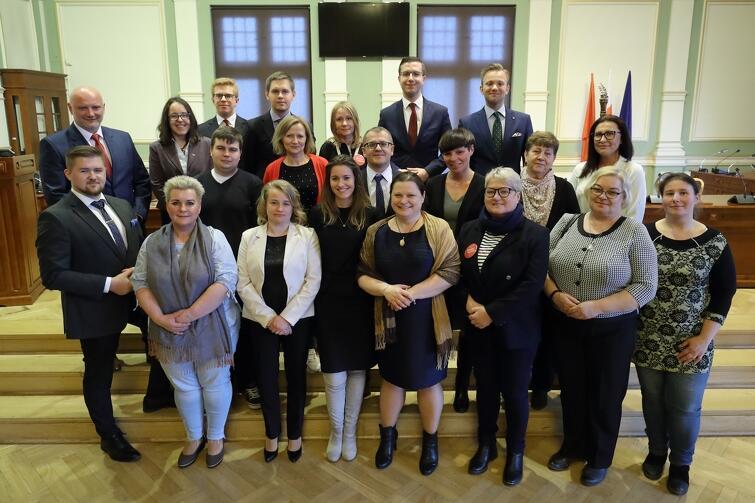Rada Dzielnicy Krakowiec - Górki Zachodnie wraz z Radnymi Miasta Gdańska