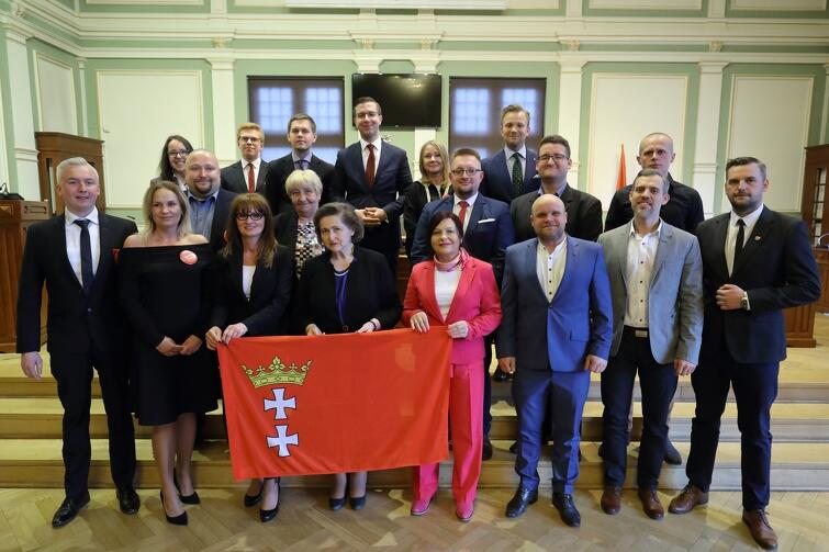 Rada Dzielnicy Nowy Port wraz z Radnymi Miasta Gdańska