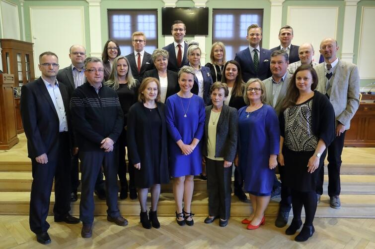 Rada Dzielnicy Olszynka wraz z Radnymi Miasta Gdańska