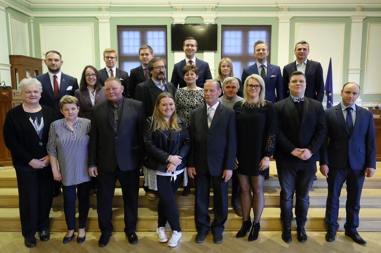 Rada Dzielnicy Rudniki wraz z Radnymi Miasta Gdańska