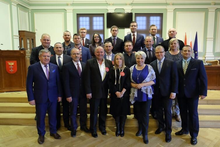 Rada Dzielnicy Wyspa Sobieszewska wraz z Radnymi Miasta Gdańska