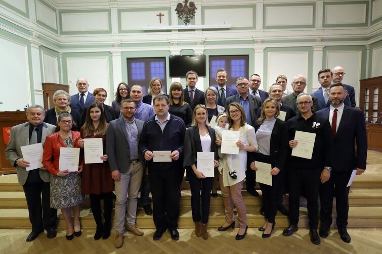 Rada Dzielnicy Chełm wraz z Radnymi Miasta Gdańska
