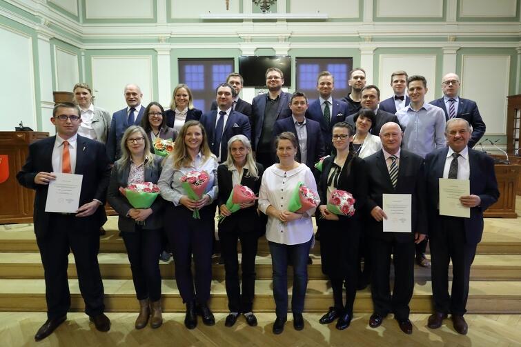 Rada Dzielnicy Orunia Górna-Gdańsk Południe wraz z Radnymi Miasta Gdańska