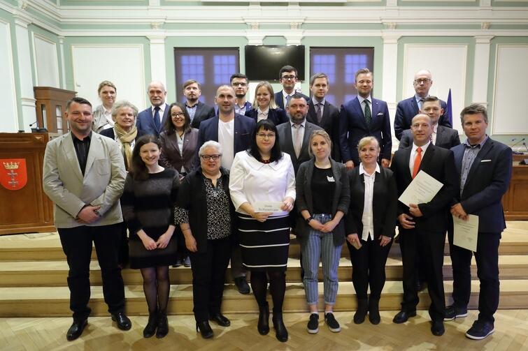 Rada Dzielnicy Orunia-Św. Wojciech-Lipce wraz z Radnymi Miasta Gdańska
