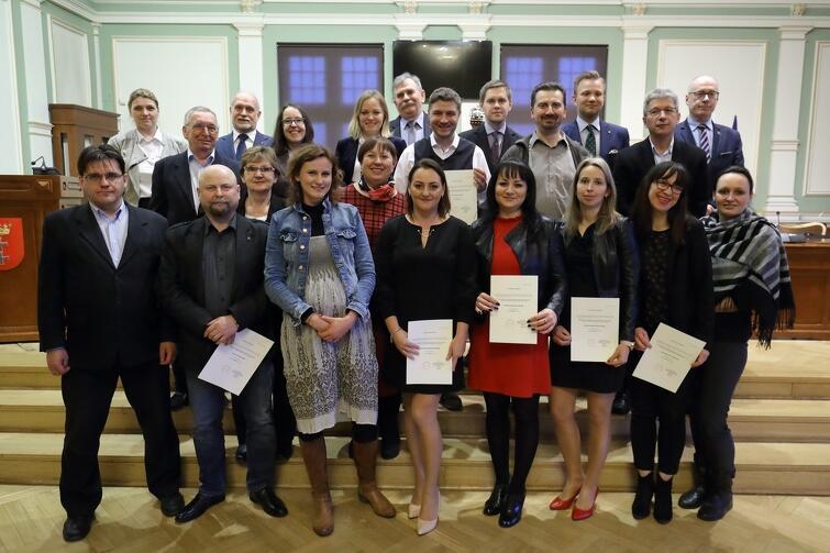 Rada Dzielnicy Przeróbka wraz z Radnymi Miasta Gdańska