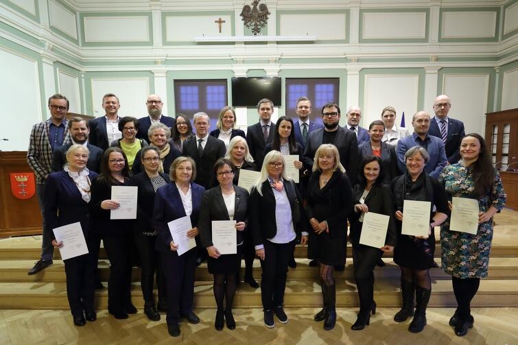 Rada Dzielnicy Śródmieście wraz z Radnymi Miasta Gdańska