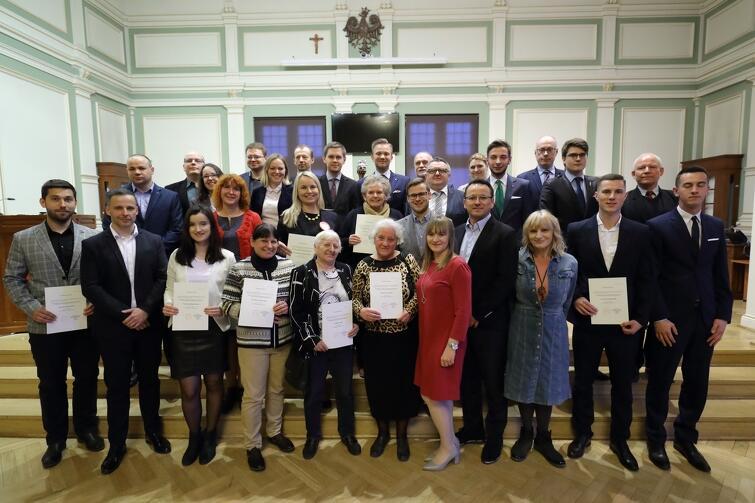 Rada Dzielnicy Ujeścisko-Łostowice wraz z Radnymi Miasta Gdańska