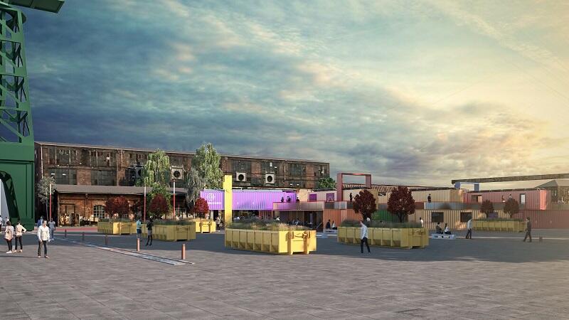 Koncepcja mobilnego miasteczka kontenerowego wybrana przez jury konkursu
