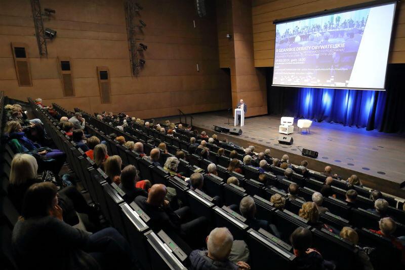Gdańska Debata Obywatelska odbędzie się w Europejskim Centrum Solidarności
