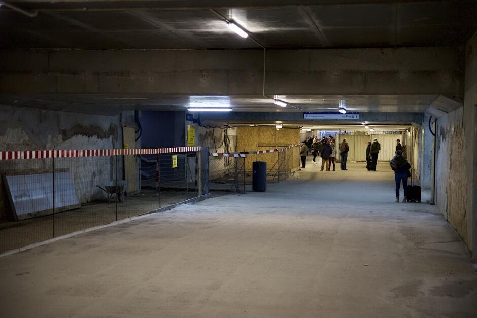 Mimo otwarcia tunelu, jeszcze przez kilka miesięcy będą trwały prace wykończeniowe