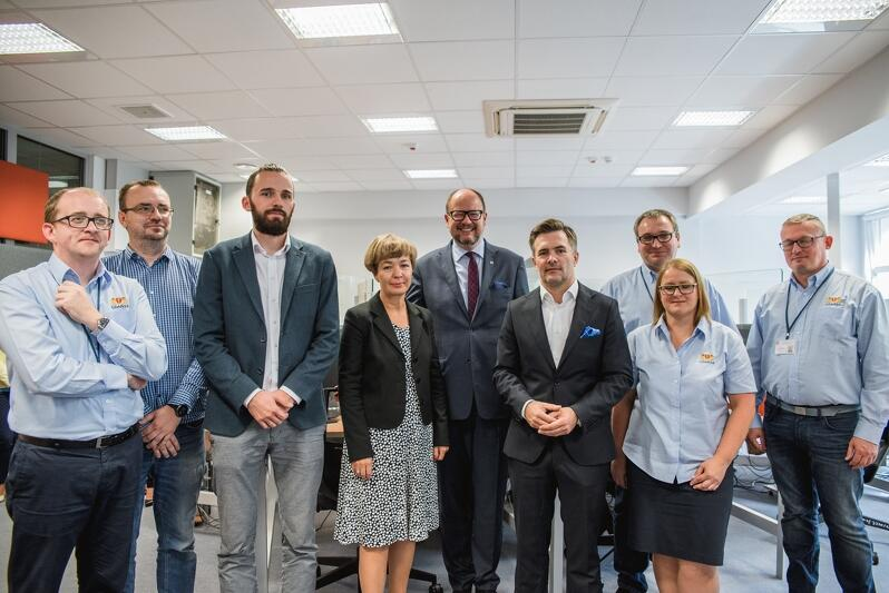 GCK w pełni funkcjonuje od września 2018, tu zdjęcie z konferencji prasowej na inaugurację działalności