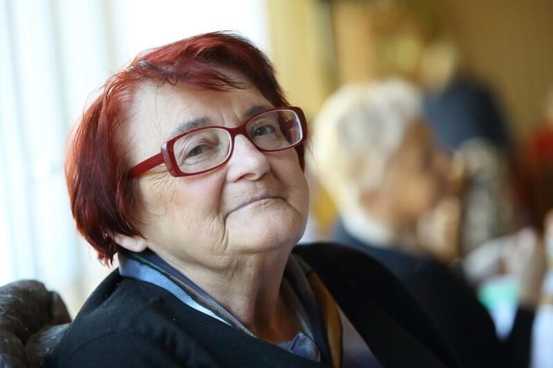Helena Pawlicka - pracowała w zawodzie kucharza, od sześciu lat mieszka w DPS Polanki