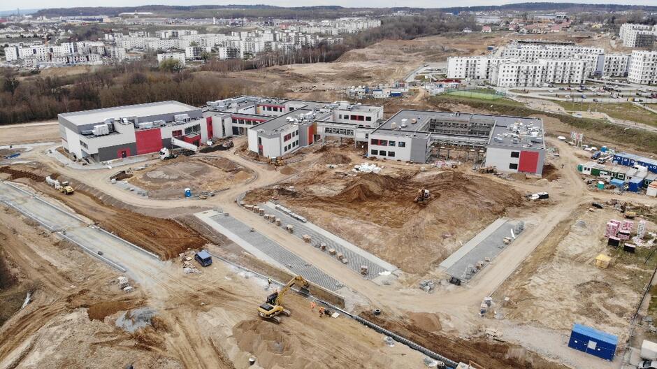 2ade854dee82f0 Nowa gdańska szkoła, na styku Ujeściska i Jasienia, powstaje przy ul.  Jabłoniowej