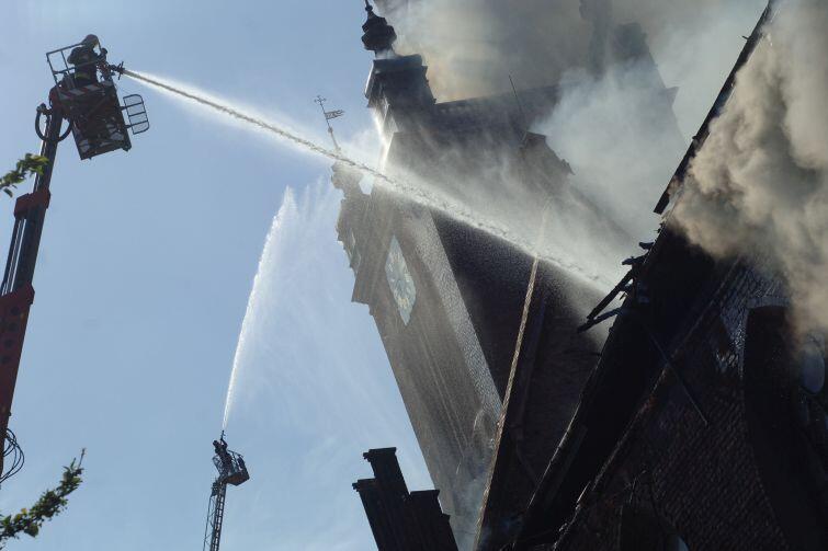 Pożar Kościoła Św. Katarzyny w Gdańsku. 22 maja 2006r.