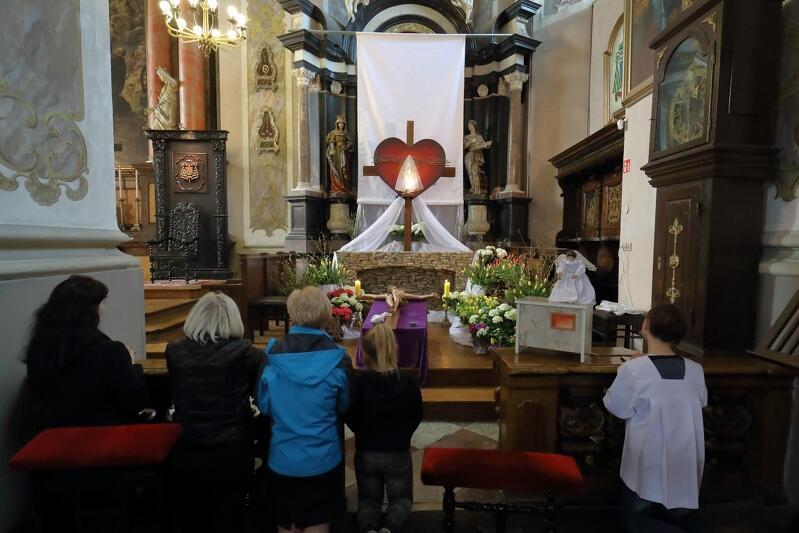 ... w kościele p.w. Ignacego Loyoli
