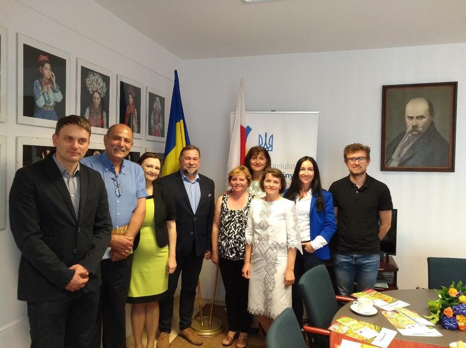 Posiedzenie Rady w Konsulacie Ukrainy, w maju 2018 r.