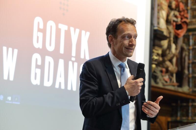 Christoph Pienkoss, przewodniczący zarządu Stowarzyszenia Europejski Szlak Gotyku Ceglanego