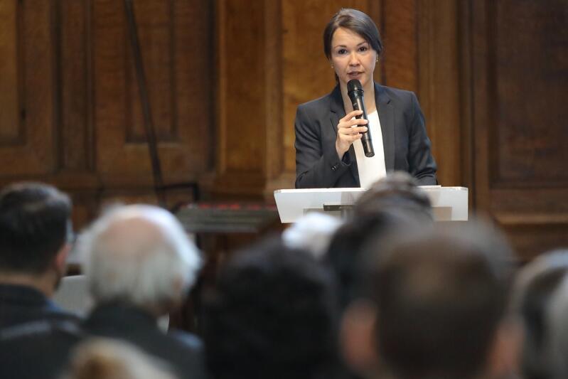 Dr Edith Kowalski, dyrektorka biura Stowarzyszenia Europejskiego Szlaku Gotyku Ceglanego