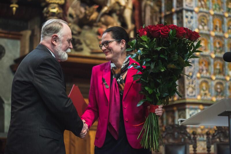 Gratulacje i kwiaty od prezydent Gdańska Aleksandry Dulkiewicz
