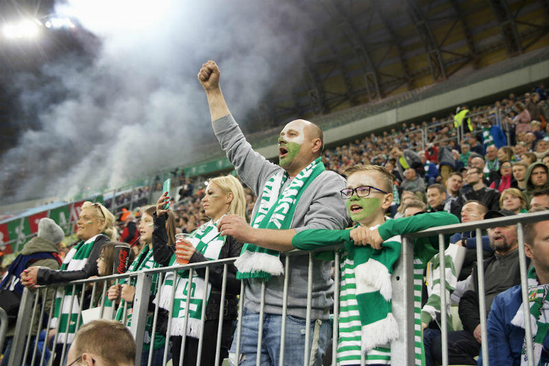 Na trybunach Stadionu Energa Gdańsk zasiadło 25 tys. osób