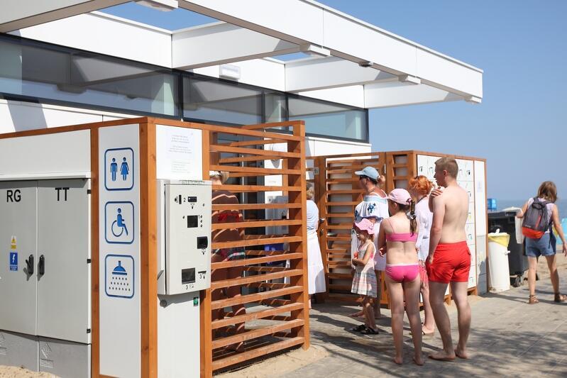 Nowe całoroczne toalety na gdańskich plażach: póki co funkcjonują cztery, wkrótce rozpocznie się budowa kolejnych trzech
