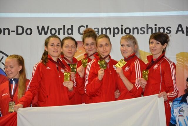 Polskie mistrzynie świata na podium