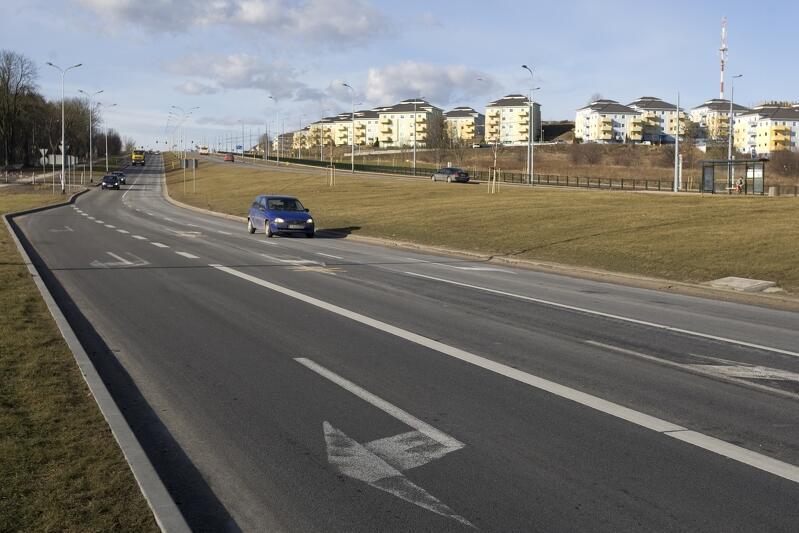 Al. Vaclava Havla - kluczowa arteria Gdańska Południe