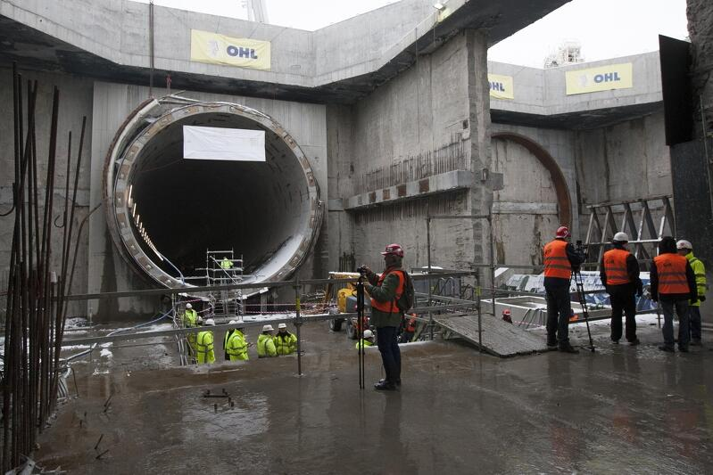 Budowa Tunelu pod Martwą Wisłą - najdroższej inwestycji infrastrukturalnej zrealizowanej dotąd w Gdańsku