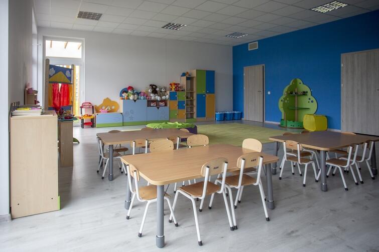 Przedszkole Lawendowe Wzgórze w Gdańsku - wyposażenie sal dofinansowane zostało ze środków unijnych