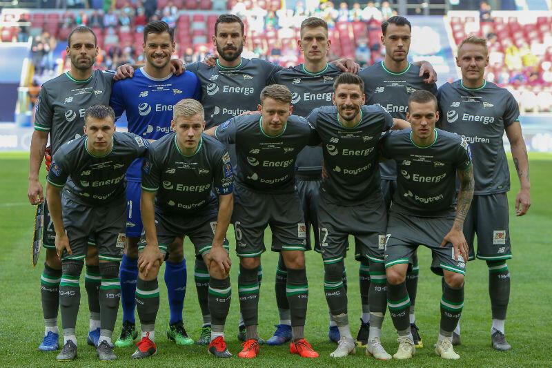 Piłkarze Lechii tuż przed finałem Pucharu Polski