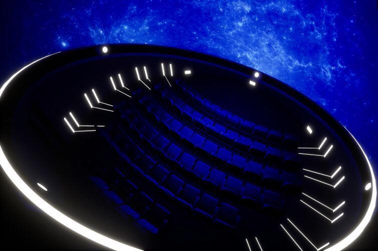 Sala projekcyjna przyszłego planetarium