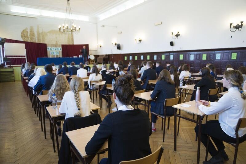 Aula III Liceum Ogólnokształcącego w Gdańsku, 6 maja 2019 r.