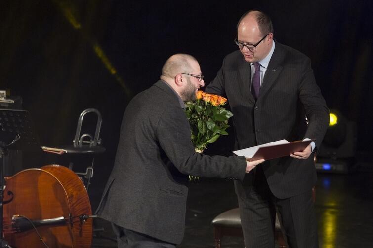 Marek Brand. Gala Nagrody Teatralnej Miasta Gdańska oraz Nagrody Teatralnej Marszałka Województwa Pomorskiego za wybitne osiągnięcia sceniczne w 2013 roku